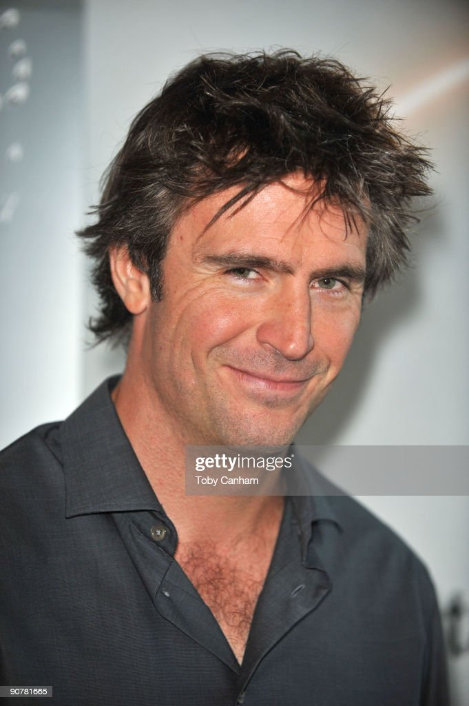 Jack Davenport poses for a picture at the Disney ABC Television Group's 'Flashforward' red carpet event held at the Arclight Cinema on September 14...