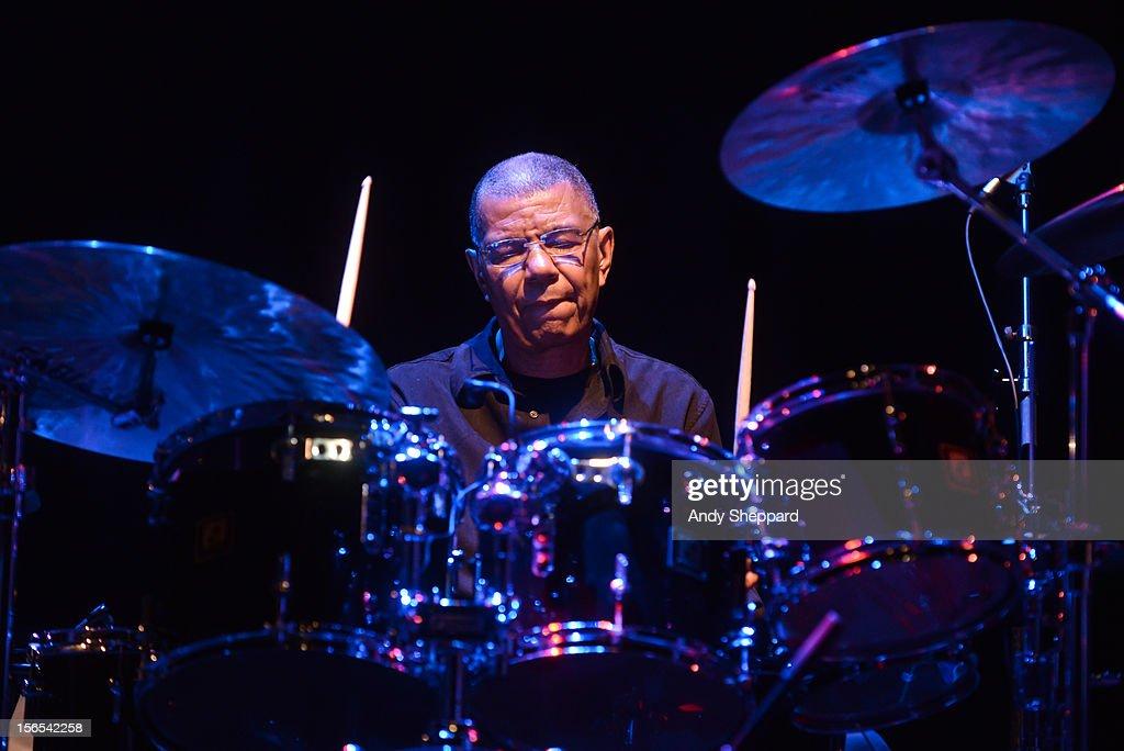 Jack DeJohnette performs on stage during the London Jazz Festival 2012 on November 16, 2012 in London, United Kingdom.