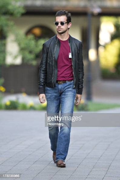 Jack Dorsey chairman and cofounder of Twitter Inc arrives for a morning session during the Allen Co Media and Technology Conference in Sun Valley...
