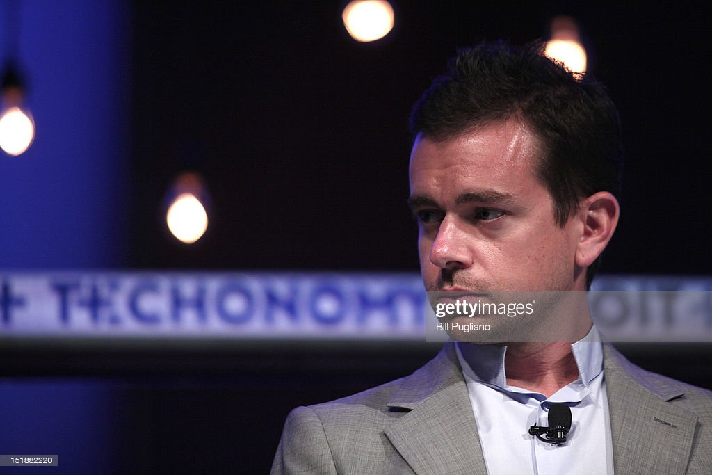<a gi-track='captionPersonalityLinkClicked' href=/galleries/search?phrase=Jack+Dorsey&family=editorial&specificpeople=5818892 ng-click='$event.stopPropagation()'>Jack Dorsey</a>, Chairman of Twitter and CEO of Square, speaks at TECHONOMYDETROIT September 12, 2012 in Detroit, Michigan. The event, hosted by the Detroit Economic Club is a one-day multidisciplinary gathering of national and local leaders about reigniting U.S. competitiveness, creating jobs, and revitalizing our cities in a technologized age.