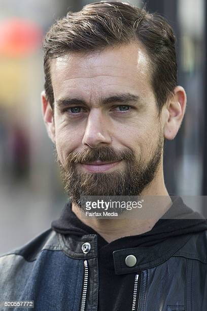 Jack Dorsey cofounder and CEO of Square and Twitter stops for a coffee at Black Velvet Espresso on April 11 2016 in Melbourne Australia