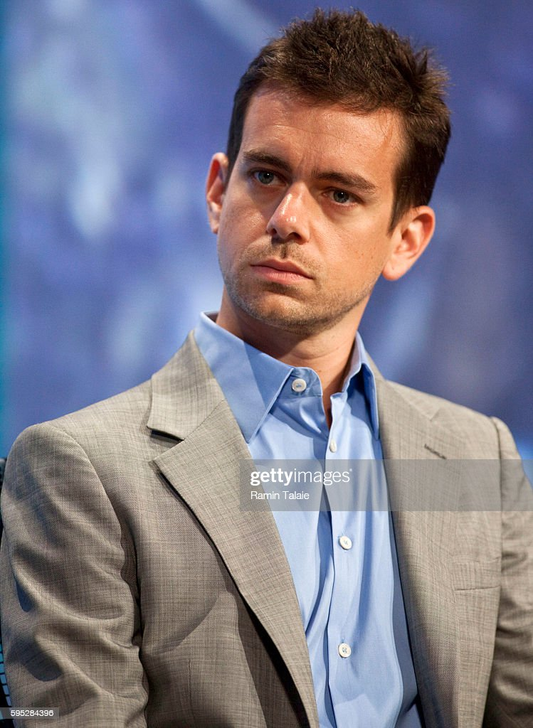 Jack Dorsey Cofounder and Chairman of Twitter looks on during the final session of the annual Clinton Global Initiative meeting in New York on...