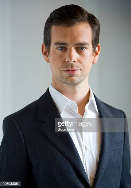 Jack Dorsey cofounder of Twitter Inc and chief executive officer of Square Inc poses for a photograph in New York US on Monday Oct 25 2010 Square's...
