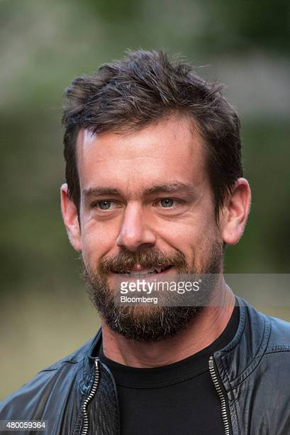 Jack Dorsey interim chief executive officer and cofounder of Twitter Inc arrives for a morning session during the Allen Co Media and Technology...