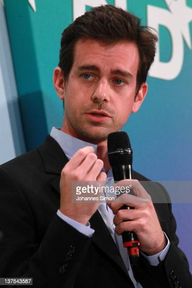 Jack Dorsey of Twitter speaks during the Digital Life Design conference at HVB Forum on January 22 2012 in Munich Germany DLD is a global conference...
