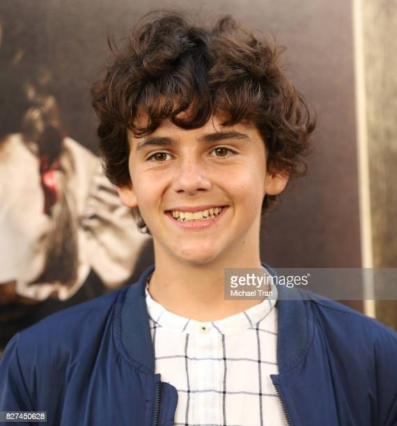 Jack Dylan Grazer arrives at the Los Angeles premiere of New Line Cinema's 'Annabelle Creation' held at TCL Chinese Theatre on August 7 2017 in...