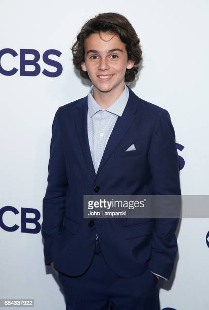 Jack Dylan Grazer attends 2017 CBS Upfron at The Plaza Hotel on May 17 2017 in New York City
