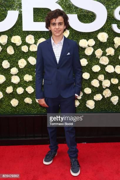 Jack Dylan Grazer attends the 2017 Summer TCA Tour CBS Television Studios' Summer Soiree at CBS Studios Radford on August 1 2017 in Studio City...