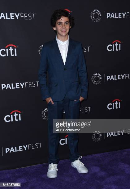 Jack Dylan Grazer attends the CBS 'Me Myself and I' red carpet at the 11th annual PaleyFest Fall TV Previews at the Paley Center for Media in Beverly...