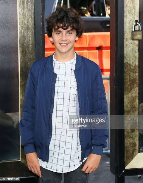 Jack Dylan Grazer attends the premiere of New Line Cinema's 'Annabelle Creation' on August 07 2017 in Los Angeles California