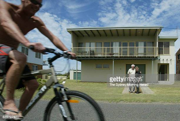 Jack Eyre and his wife Carole at their holiday home at Currarong near Jervis Bay They are facing a large land tax bill yet after another revaluation...