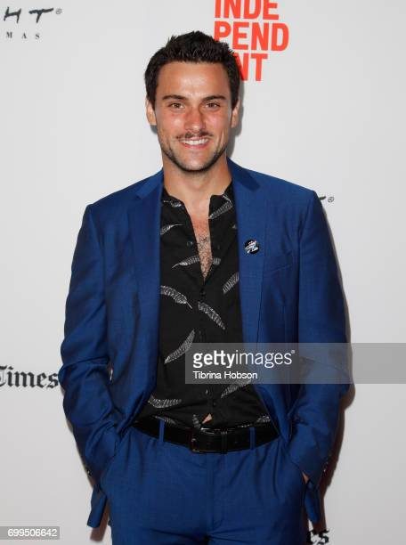 Jack Falahee attends the screening of 'The Song of Sway Lake' during the 2017 Los Angeles Film Festival at Arclight Cinemas Culver City on June 21...