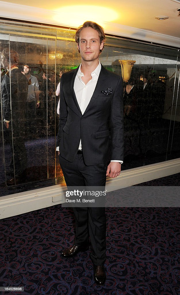 Jack Fox arrives at the Jameson Empire Awards 2013 at The Grosvenor House Hotel on March 24, 2013 in London, England.