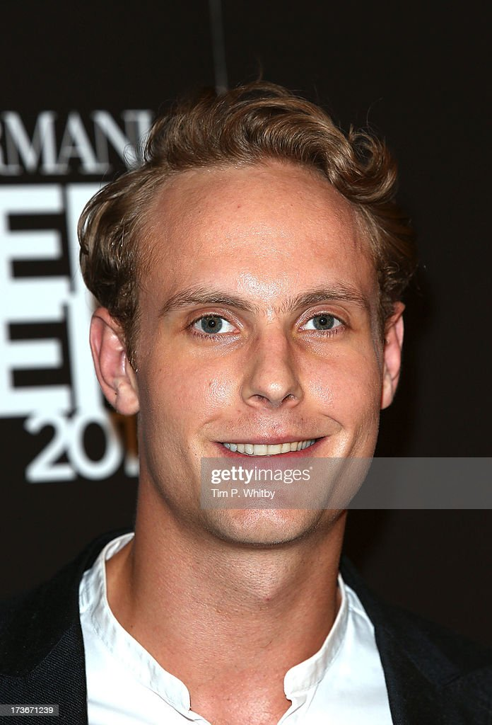 Jack Fox attends Emporio Armani's Summer Garden Live 2013 on July 16, 2013 in London, England.