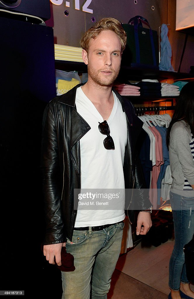 Jack Fox attends the Lacoste Store Reopening on May 28, 2014 in London, England.
