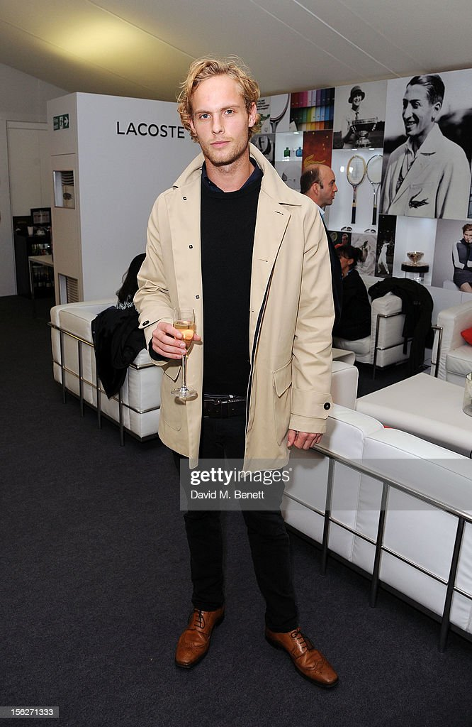 Jack Fox attends the Lacoste VIP lounge during day eight of the ATP World Finals at the O2 Arena on November 12, 2012 in London, England.