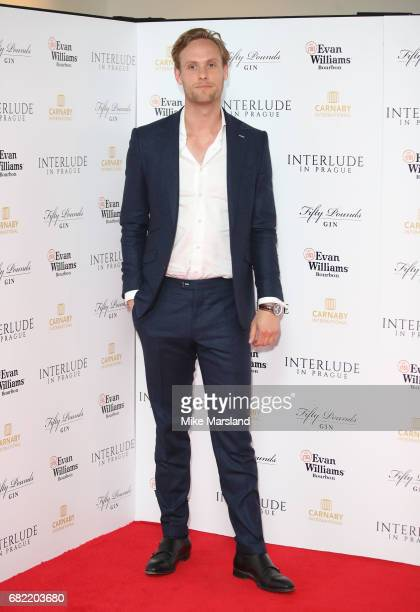 Jack Fox attends the World Premiere of 'Interlude In Prague' at Odeon Leicester Square on May 11 2017 in London England