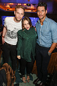 Jack Fox Jaime Winstone and David Gandy attend the launch of the new Matchless Star Wars collection at Sexy Fish on November 4 2015 in London England