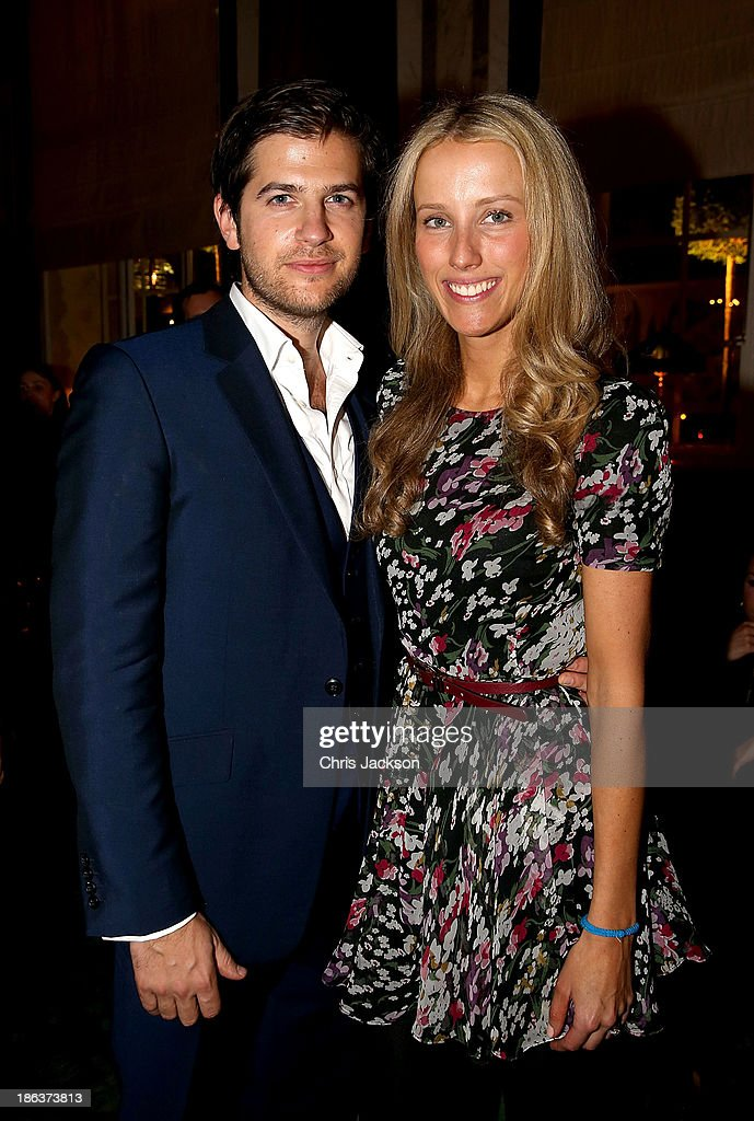 Jack Freud and Kate Freud attend the opening of Rosewood London on October 30, 2013 in London, England.