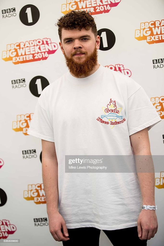 Jack Garratt backstage at Powderham Castle on May 29, 2016 in Exeter, England.