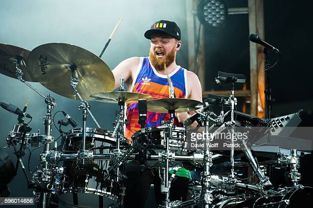 Jack Garratt performs at Rock en Seine on August 26 2016 in Paris France