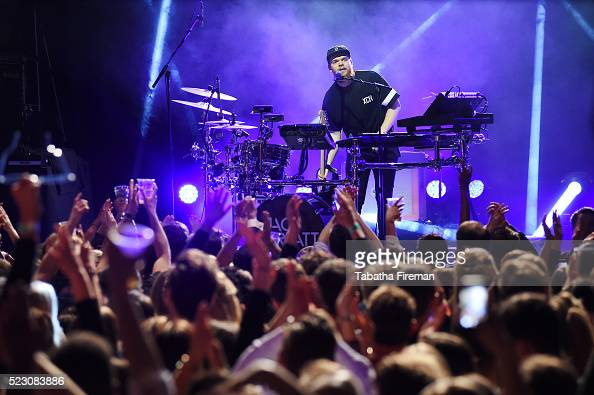 Jack Garratt performs live on stage at the Bing Wrap Party during Advertising Week Europe 2016 at KOKO on April 21 2016 in London England