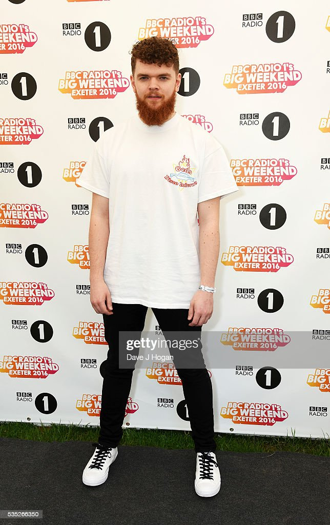 <a gi-track='captionPersonalityLinkClicked' href=/galleries/search?phrase=Jack+Garratt&family=editorial&specificpeople=12610344 ng-click='$event.stopPropagation()'>Jack Garratt</a> poses for a photo during day 2 of BBC Radio 1's Big Weekend at Powderham Castle on May 29, 2016 in Exeter, England.