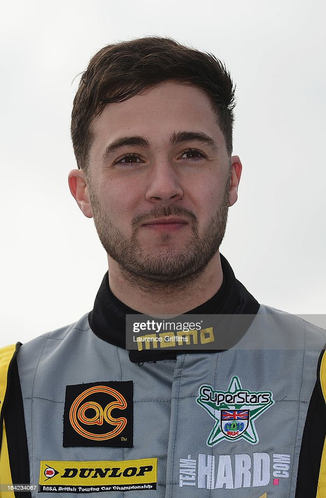 Jack Goff of RCIB Insurance Racing poses for a portrait during the BTCC Media Day at Donington Park on March 21, 2013 in Castle Donington, England.