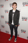 Jack Griffo arrives at Staples Boys Girls Clubs of America and teen actor Jake T Austin mark the end of summer with a starstudded school supply drive...