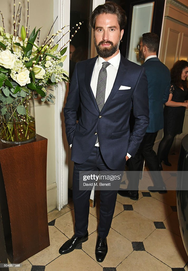 Jack Guinness attends a private dinner hosted by Tommy Hilfiger and Dylan Jones to celebrate London Collections Men AW16 at Morton's on January 10...