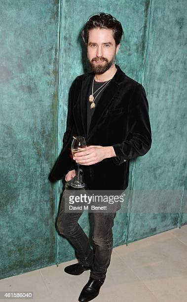 Jack Guinness attends an intimate party hosted by Alexa Chung to celebrate the global launch of the Alexa Chung for AG collection at Neo Bankside on...