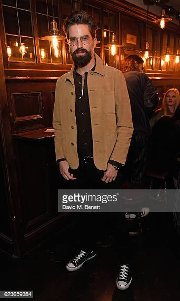 Jack Guinness attends Frame Pub Quiz on November 16 2016 in London England