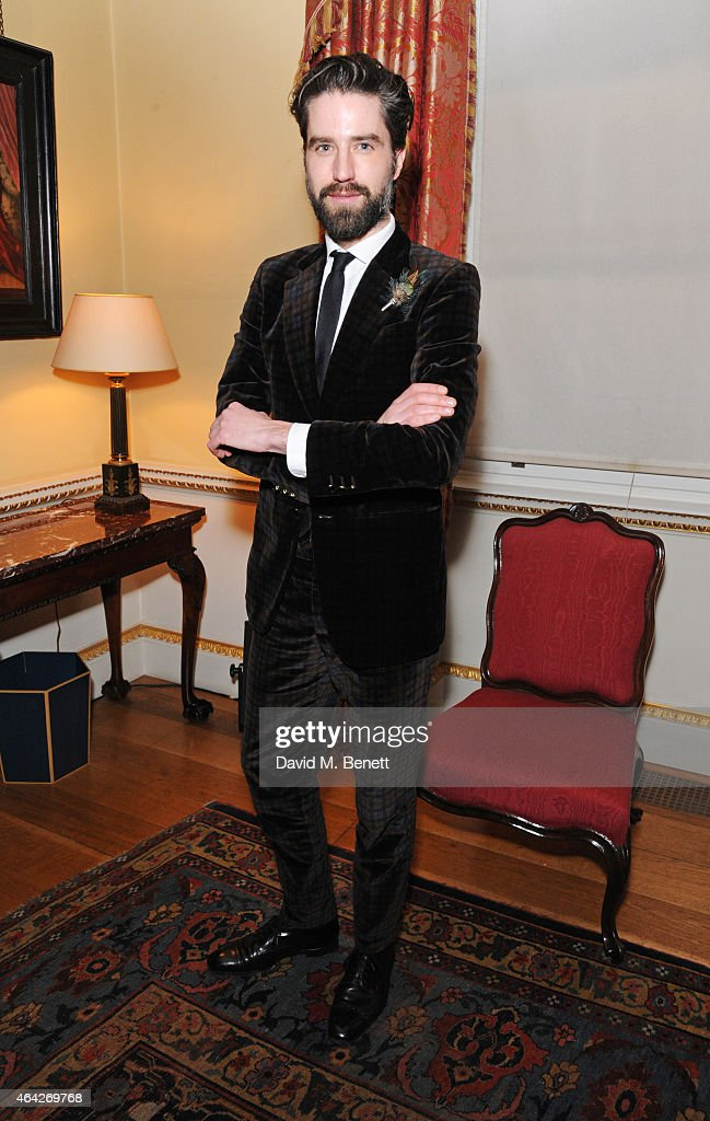 Jack Guinness attends the Creative London party hosted by the British Fashion Council and BPI at Spencer House on February 23 2015 in London England