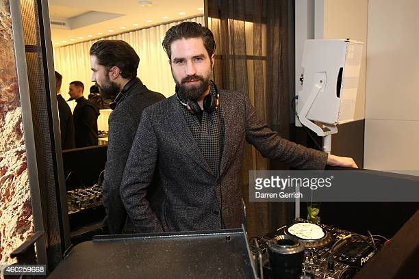 Jack Guinness attends the Guiseppe Zanotti Design Men's Flagship Store launch on December 10 2014 in London England