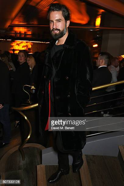 Jack Guinness attends the launch of 100 Wardour St on January 28 2016 in London England