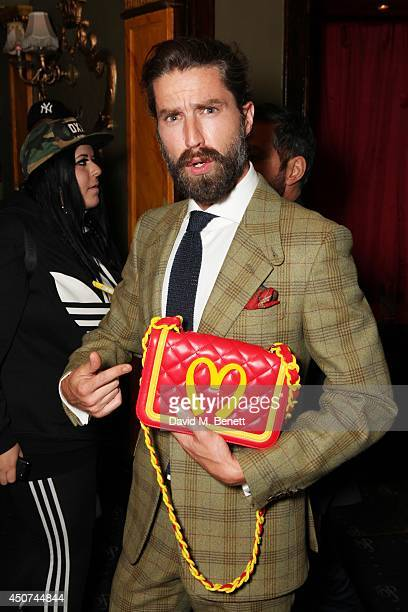 Jack Guinness attends the Moschino party during London Collections Men SS15 on June 16 2014 in London England
