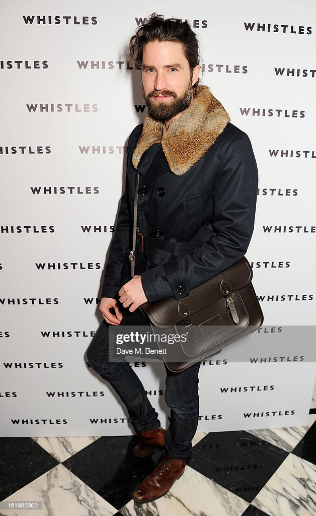 Jack Guinness attends the Whistles Limited Edition Autumn/Winter 2013 Collection party at The Arts Club on February 17, 2013 in London, England.