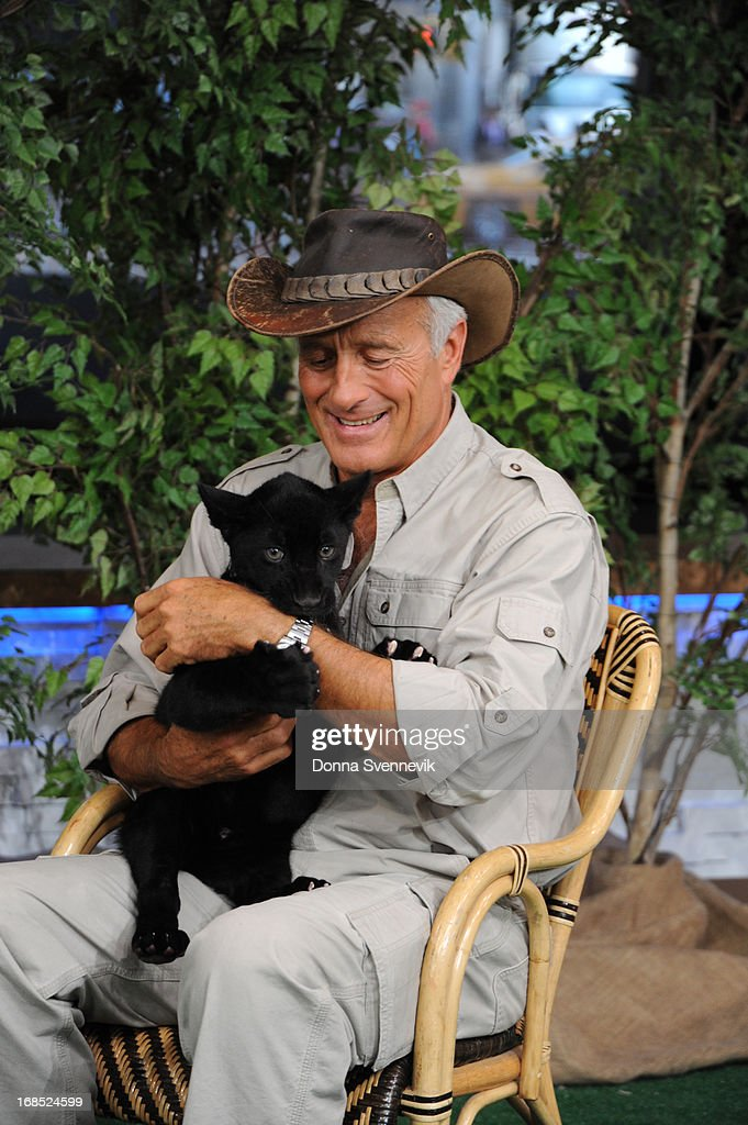 AMERICA - Jack Hanna brings his animal friends to 'Good Morning America,' 5/10/13, airing on the ABC Television Network. (Photo by Donna Svennevik/ABC via Getty Images) JACK