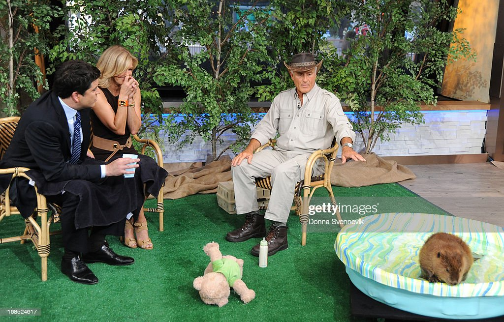 AMERICA - Jack Hanna brings his animal friends to 'Good Morning America,' 5/10/13, airing on the ABC Television Network. (Photo by Donna Svennevik/ABC via Getty Images) JOSH