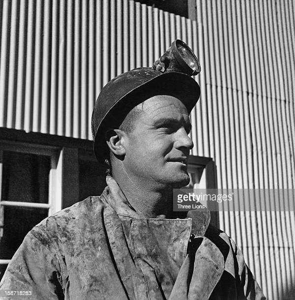 Jack Hillock a developer at a Zinc Corporation mine in Broken Hill New South Wales Australia circa 1955 He has been working in the mining industry...