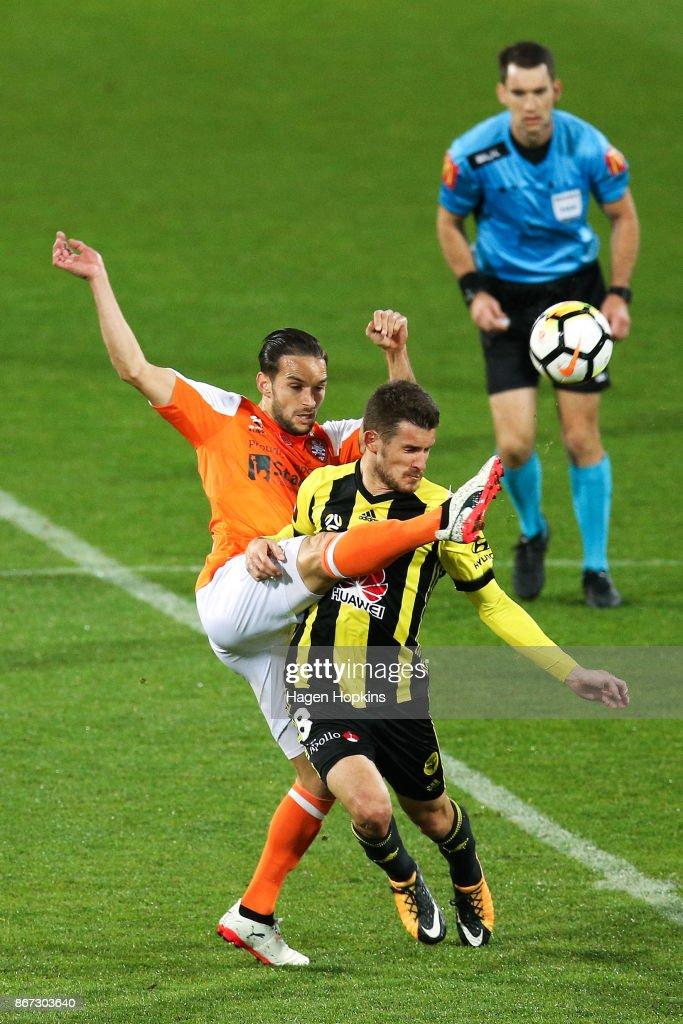 A-League Rd 4 - Wellington v Brisbane