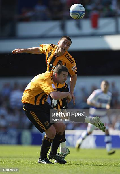 Jack Hobbs of Hull City in action during the npower Championship match between Queens Park Rangers and Hull City at Loftus Road on April 25 2011 in...
