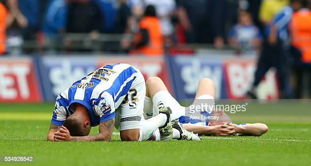 Jack Hunt of Sheffield Wednesday is dejected follwoing defeat in the Sky Bet Championship Play Off Final match between Hull City and Sheffield...