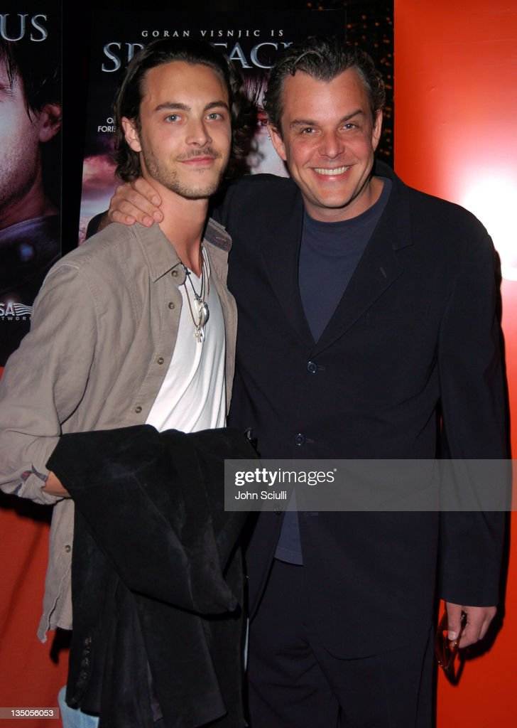 Jack Huston and Danny Huston during USA Network's 'Spartacus' World Premiere Red Carpet Arrivals at Director's Guild of America in Los Angeles...