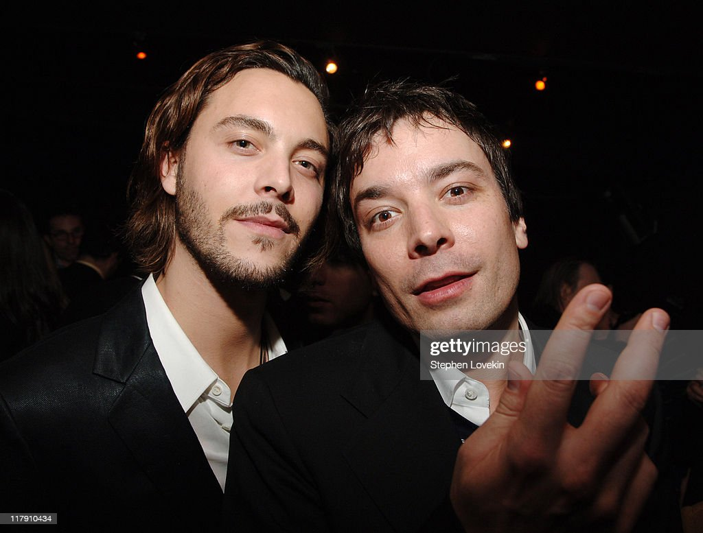 Jack Huston and Jimmy Fallon during 'Factory Girl' New York Premiere AfterParty at The Chelsea Hotel in New York City New York United States