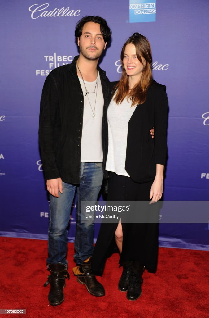 <a gi-track='captionPersonalityLinkClicked' href=/galleries/search?phrase=Jack+Huston&family=editorial&specificpeople=839493 ng-click='$event.stopPropagation()'>Jack Huston</a> and <a gi-track='captionPersonalityLinkClicked' href=/galleries/search?phrase=Shannan+Click&family=editorial&specificpeople=4342080 ng-click='$event.stopPropagation()'>Shannan Click</a> attend the screening of 'In God We Trust' during the 2013 Tribeca Film Festival at SVA Theater on April 19, 2013 in New York City.
