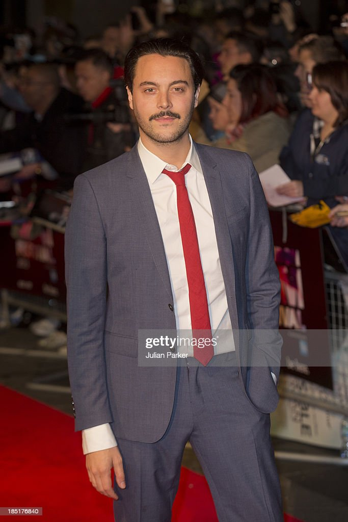 <a gi-track='captionPersonalityLinkClicked' href=/galleries/search?phrase=Jack+Huston&family=editorial&specificpeople=839493 ng-click='$event.stopPropagation()'>Jack Huston</a> attends a screening of 'Kill Your Darlings' during the 57th BFI London Film Festival at Odeon West End on October 17, 2013 in London, England.