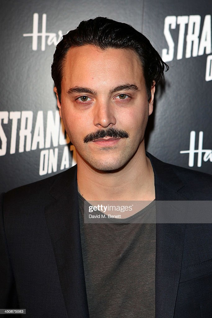 <a gi-track='captionPersonalityLinkClicked' href=/galleries/search?phrase=Jack+Huston&family=editorial&specificpeople=839493 ng-click='$event.stopPropagation()'>Jack Huston</a> attends an after party following the press night performance of 'Strangers On A Train' at the Cafe de Paris on November 19, 2013 in London, England.