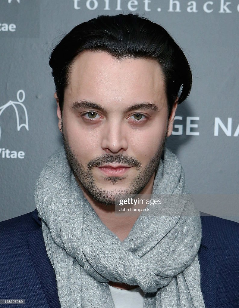 Jack Huston attends Charity Meets Fashion Holiday Celebration Honoring The World's Children at Affirmation Arts on December 17, 2012 in New York City.