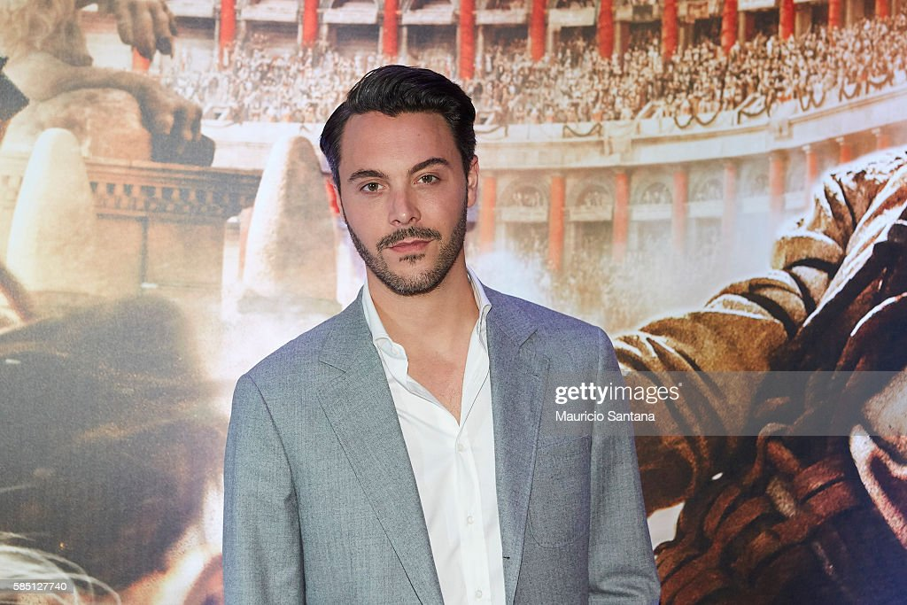 Jack Huston attends the Brazil Premiere of the Paramount Pictures film 'BenHur' on August 1 2016 at Cinepolis JK in Sao Paulo Brazil